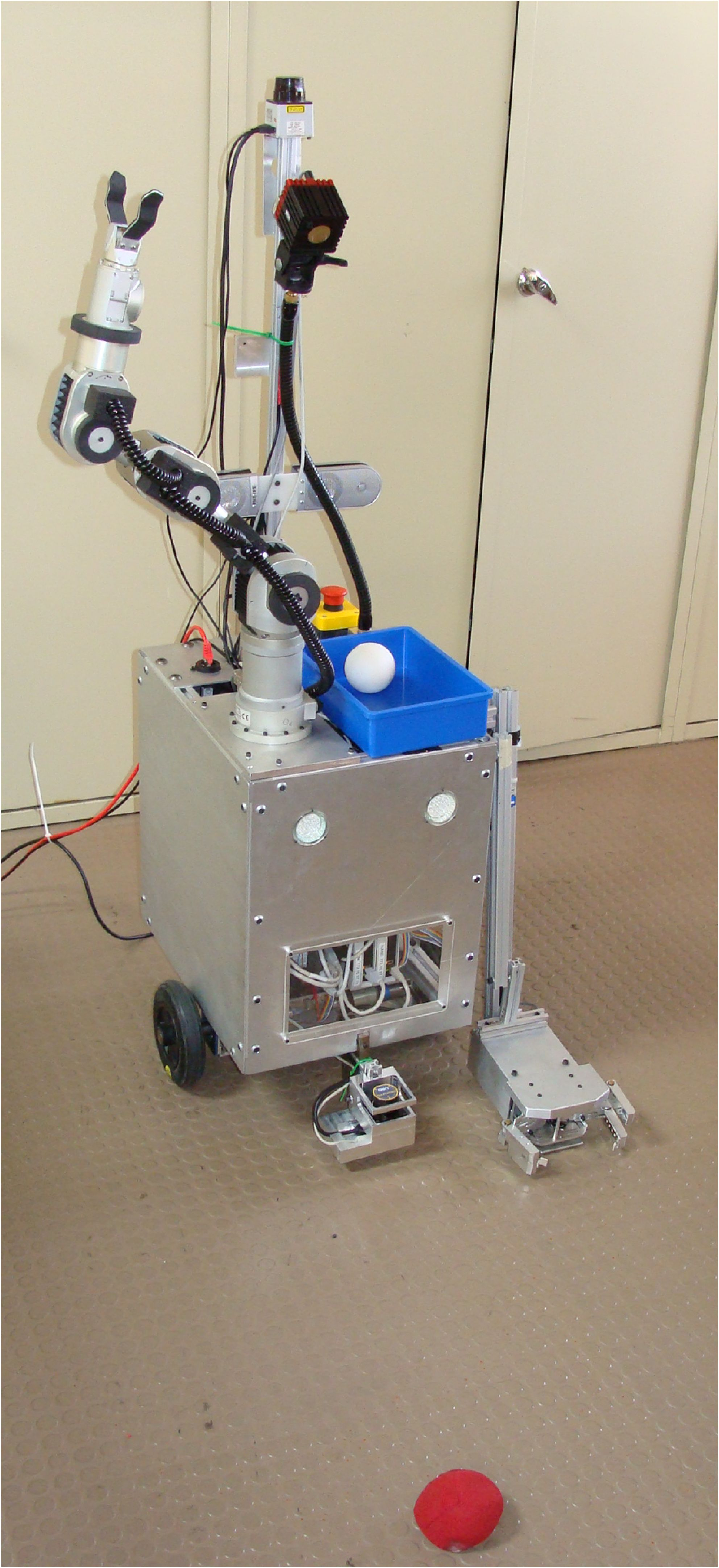 Lara And Robocup At Home Electrical Wiring Joints Pdf Improvements Include Consolidation Of Several Components Shoulder Joint Gripper Control Obstacle Avoidance Mapping Capabilities